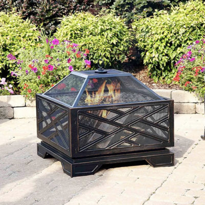 where to buy wood burning firepit online