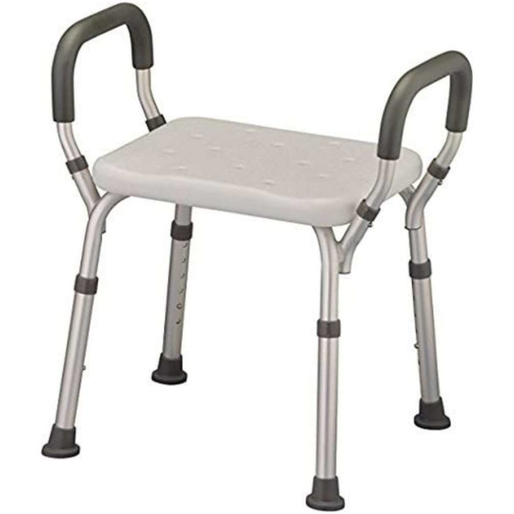 Medical Shower Chair   Bath Seat Shower Bench With Arms 5
