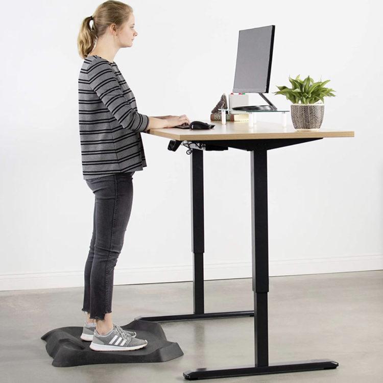 Electric Stand Up Desk Frame Workstation 7